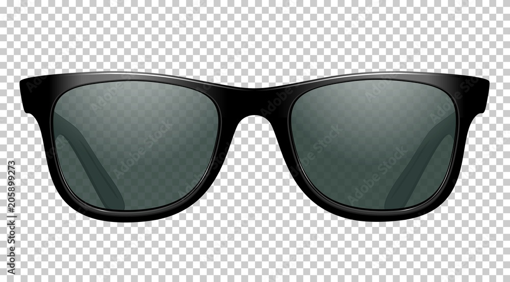 Fototapety, obrazy: sun glasses vector illustration realistic