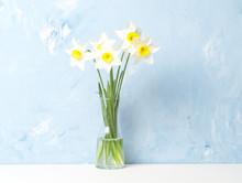 Bouquet Of Fresh Flowers, Daff...