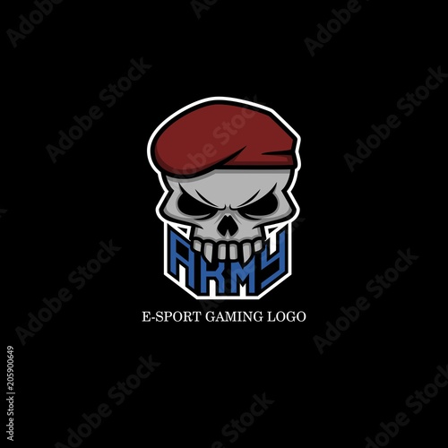 Army skull logo - Buy this stock vector and explore similar vectors