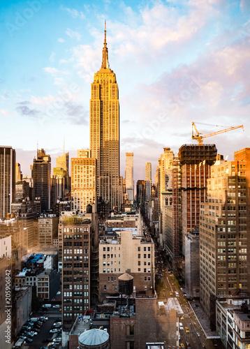 Plakat Empire State Building, Nowy Jork