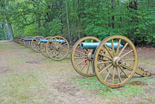 Row Of Cannons - Shiloh Nation...