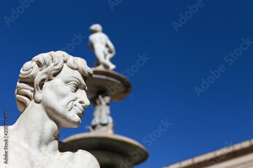 Foto op Canvas Palermo La fontana - Piazza della Vergogna - Palermo