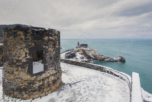 In de dag Mediterraans Europa Gulf of Poets,Portovenere, province of La Spezia, Liguria, Italy,Europe