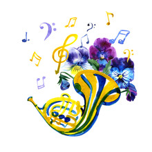 Musical Instruments Graphic Te...