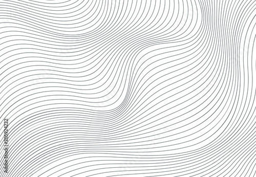 Poster Abstract wave Wavy vector background
