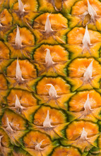 Texture Of Ripe Pineapple