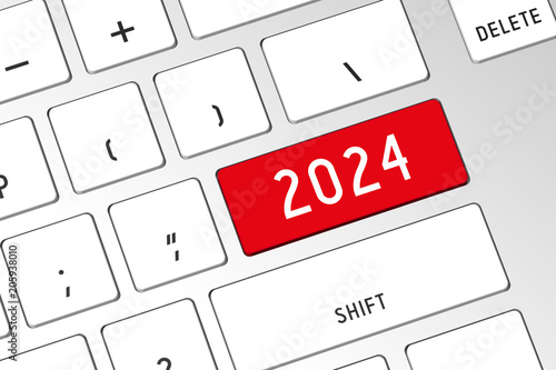 Fotografia  2024 - 3D computer keyboard