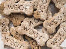 Homemade Dog Treats With The W...
