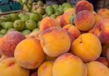 Fresh Farmers Peaches And Pear...