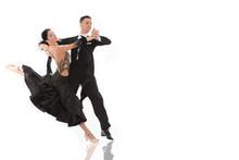 Ballroom Dance Couple In A Dan...