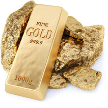 Gold Bullion And Gold Nuggets ...