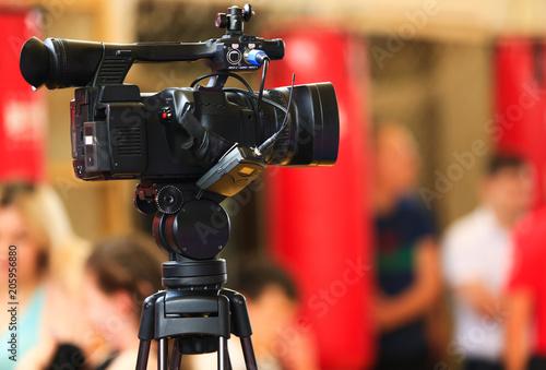 Television video camera #205956880
