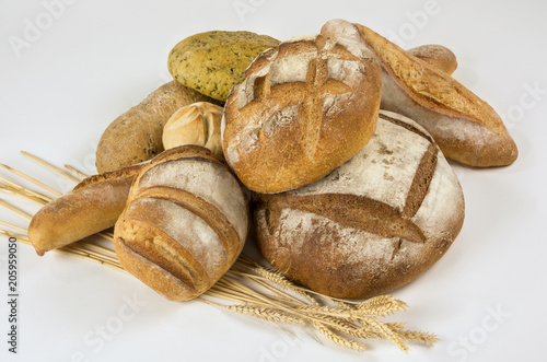Foto op Aluminium Brood Rustic homemade bread