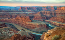 Sunrise At Dead Horse Point, M...