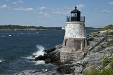 Castle Hill Lighthouse In Newp...