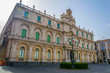 View of the Universita degli studi di catania building in Sicily, Italy