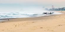 Early Morning Sea Kayakers