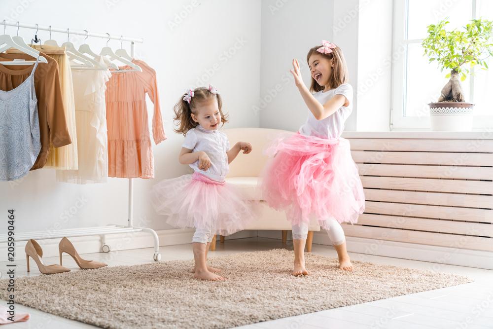 Fototapety, obrazy: children are having fun