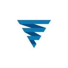 Tornado Logo Symbol Isolated,  Typhoon Vector Illustration