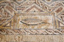 Floor Tiles In Kourion, Cyprus