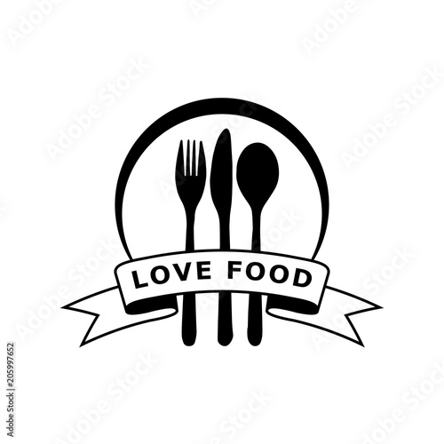 fork knife logo design - Buy this stock vector and explore similar