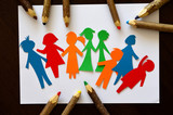 Fototapeta Rainbow - Dzień Dziecka