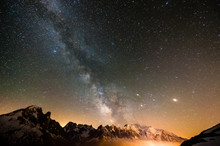 Milky Way - Chamonix Mont Blanc