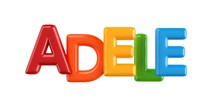 Isolated Colorfull 3d Kid Name...