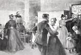 Pary tańczą w restauracji - 206055051