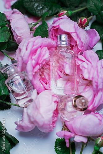 Garden Poster Perfumery, cosmetics, fragrance collection