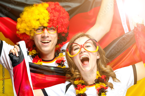 Fussball Fans Deutschland Buy This Stock Photo And Explore