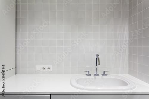 Element of bathroom interior Wallpaper Mural