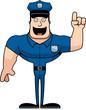Cartoon Police Officer Idea