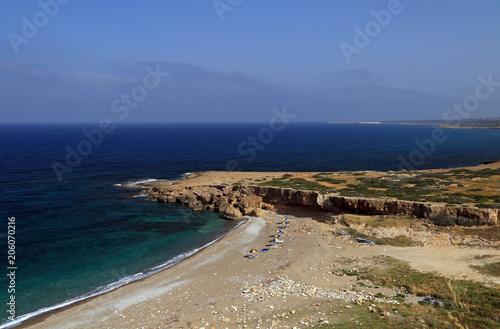 Poster Kust Coast of Cyprus, Akamas Peninsula, Cyprus