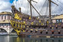 Galleon Neptun In Genoa Port