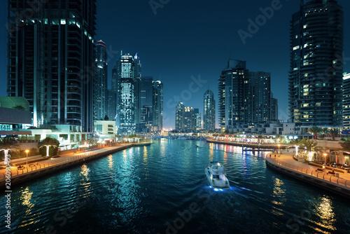 Photo  Dubai Marina, United Arab Emirates