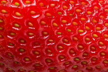 Background From Strawberry Texture