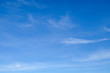 Blue sky with clouds background