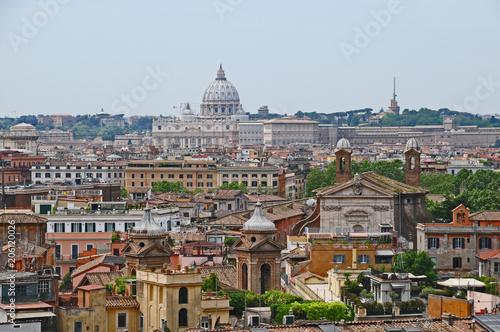 Roma dai giardini di Villa Medici #206120026