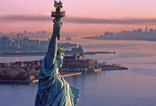 Statue Of Liberty, Aerial View