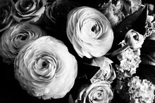 Bouquet Of Ranunculus And Rose...