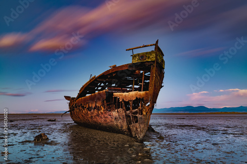 Fotografia Janie Seddon ship wreck Abel Tasman New Zealand