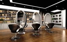 3d Render Of Beauty Saloon
