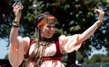 Desert Tribal Belly Dancer Gypsy Tanjora Banat