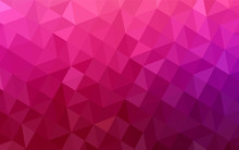 Light Purple, Pink Vector Low ...