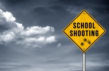 School Shooting - Road Sign