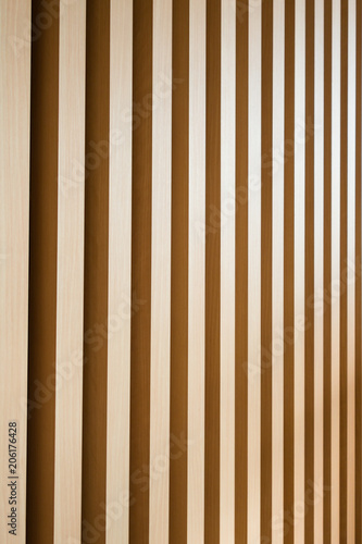 Fotografía  木の格子 / モダン建築のイメージ