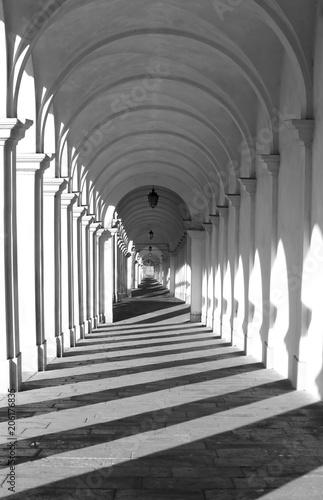 Photo Vicenza Italy the porch to the sanctuary of Monte BERICO dedicat