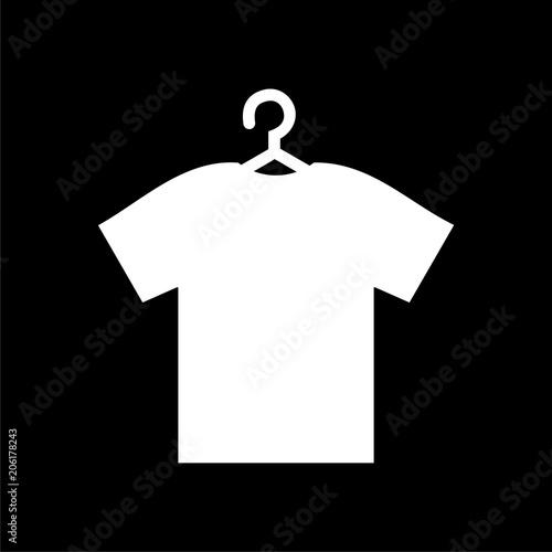 t shirt vector icon vector blank tshirt icon symbol on dark background buy this stock vector and explore similar vectors at adobe stock adobe stock t shirt vector icon vector blank