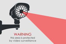 CCTV Camera. Security Surveillance System